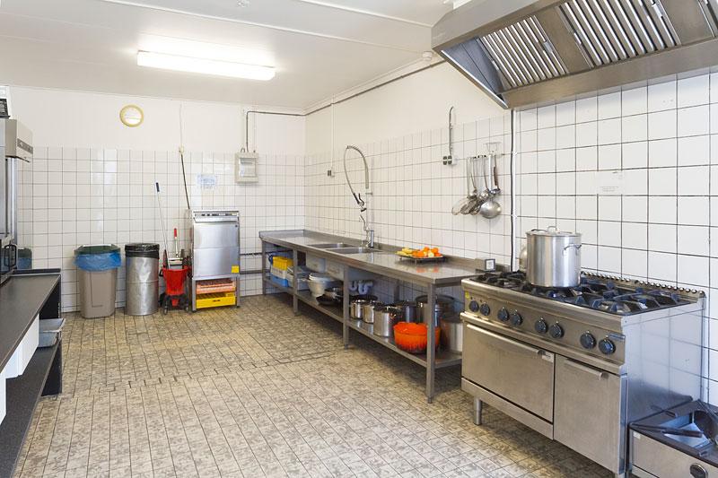 keuken accommodatie de Eekhoorn